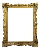 Carved picture frame Royalty Free Stock Photography