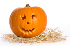 Carved Pumpkin royalty free stock photos