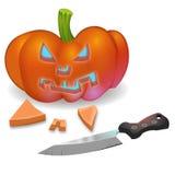Carved Pumpkin Stock Photos