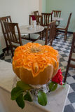 Carved pumpkin Royalty Free Stock Images