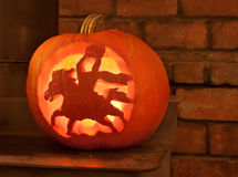 Carved Pumpkins Stock Photos