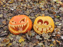 Free Carved Pumpkins Royalty Free Stock Photo - 79648655