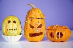 Carved Pumpkins Stock Image