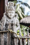 A carved religious statue- Bali, Indonesia Royalty Free Stock Images