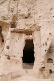 Carved Rooms in Zelve Valley, Cappadocia Royalty Free Stock Images