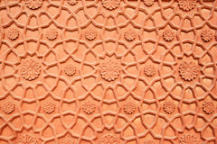 Carved sandstone background Stock Photos