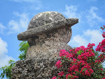 Carved Saturn at Coral Castle, Leisure City, Florida, USA Royalty Free Stock Photography