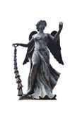 Carved and sculpture statue angel guardian European style Royalty Free Stock Photos