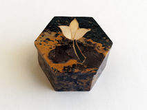 Carved Soapstone Box Royalty Free Stock Image
