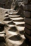 Carved Stairway - Machu Picchu - Peru. Carved Stairway in Machu Picchu - Peru stock photography