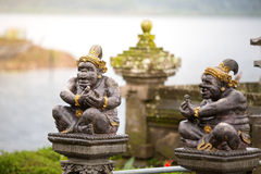 Carved statue in Hindu temple Royalty Free Stock Photos