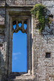 Carved Stone Castle Window Stock Photos