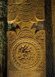 Carved stone decoration Stock Photography