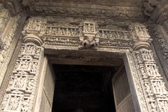 Carved Stone Door Frame Royalty Free Stock Image