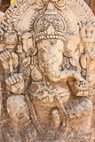Carved stone,Ganesha in Thailand Stock Image