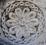 Carved stone pattern Stock Photography