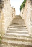 Carved stone stairs Royalty Free Stock Photo