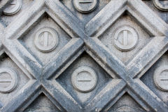Carved Stone Wall Stock Images