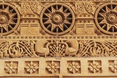Carved Stonework Royalty Free Stock Images