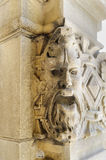 Carved stonework figure Royalty Free Stock Photography