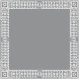 Carved vintage frame made of paper photo with shadow Stock Photos