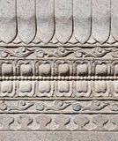 Carved wall Royalty Free Stock Photo