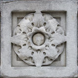 Carved wall decoration Stock Images