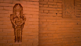 Carved Wall Royalty Free Stock Image