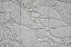 Carved wall in Wuxi Stock Photos