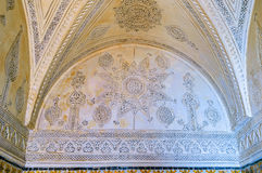 The carved walls Royalty Free Stock Images