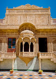 Carved window in Mandir Palace, Jaisalmer, Rajasthan, India Stock Photography