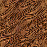 Carved wood seamless texture. Carved pattern on wood background seamless texture, 3d illustration Royalty Free Stock Photo