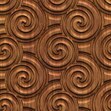 Carved wood seamless texture Royalty Free Stock Photography