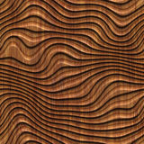 Carved wood seamless texture. Carved pattern on wood background seamless texture, 3d illustration Royalty Free Stock Images