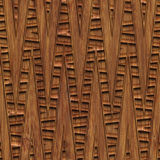 Carved wood seamless texture. Carved pattern on wood background seamless texture, 3d illustration Royalty Free Stock Image