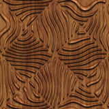 Carved wood seamless texture Stock Photography