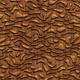 Carved wood seamless texture. Carved pattern on wood background seamless texture, 3d illustration Stock Photography
