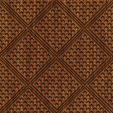 Carved wood seamless texture. Carved pattern on wood background seamless texture, 3d illustration Stock Photos
