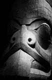 Carved Wood Totem Royalty Free Stock Photo