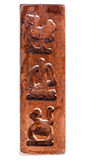 Carved wood Royalty Free Stock Images