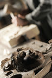 Carved wooden Royalty Free Stock Image