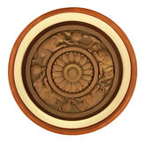 Carved wooden detail Stock Image
