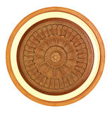 Carved wooden detail Stock Images