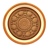 Carved wooden detail Royalty Free Stock Images