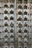 Carved Wooden Door Stock Photography