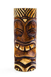 A Carved Wooden Tiki Royalty Free Stock Image