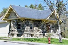 Carver pomnika biblioteka obraz stock