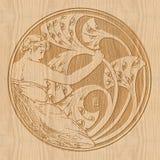 carving Imagem de Stock