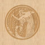 carving Imagenes de archivo