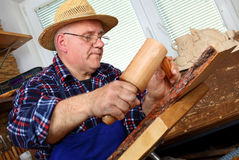 Carving Royalty Free Stock Image